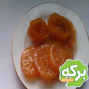 طرز تهیه مربا پرتقال حلقه ای