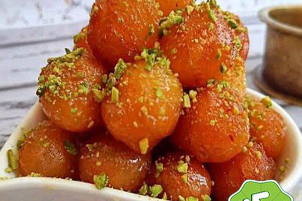طرز تهیه شیرینی لگیمات مخصوص ماه رمضان