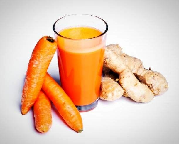 دلیلی مهم برای آنکه آب هویج را همراه زنجبیل بخورید
