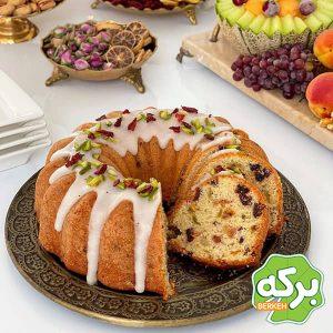 طرز تهیه کیک میوه خشک